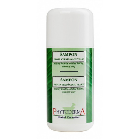 Šampon proti vypadávání vlasů s obilnými klíčky, sójovým lecitinem a olivovým olejem